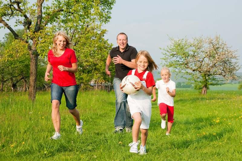 Приучение детей к здоровому образу жизни