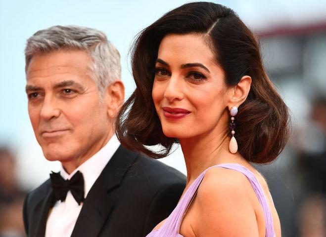 Амаль и Джордж Клуни дали первое совместное интервью после рождения детей