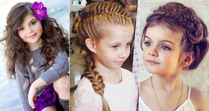 Особенности плетения кос для девочек