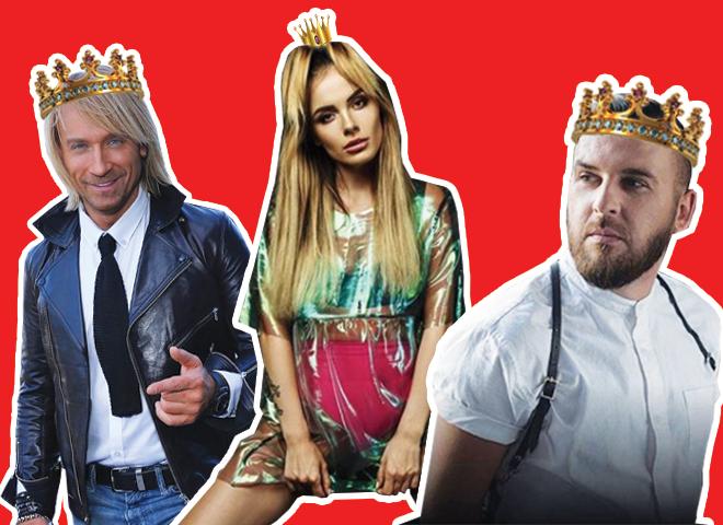 Лучшие украинские артисты 2017 года: результаты голосования tochka.net