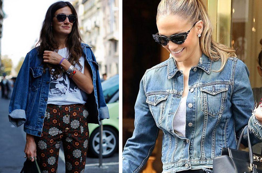 Как выбрать и носить джинсовую куртку?
