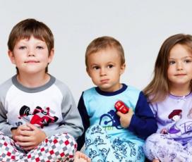 Детские пижамы недорого на сайте olioli.com.ua