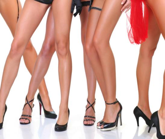 Красивые ноги. Параметры красивых женских ног.