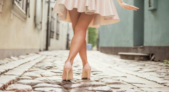 Красивая походка. Как научиться красиво ходить.