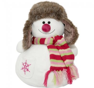 Детские новогодние подарки с конфетами – в мягкой игрушке или в картоне?