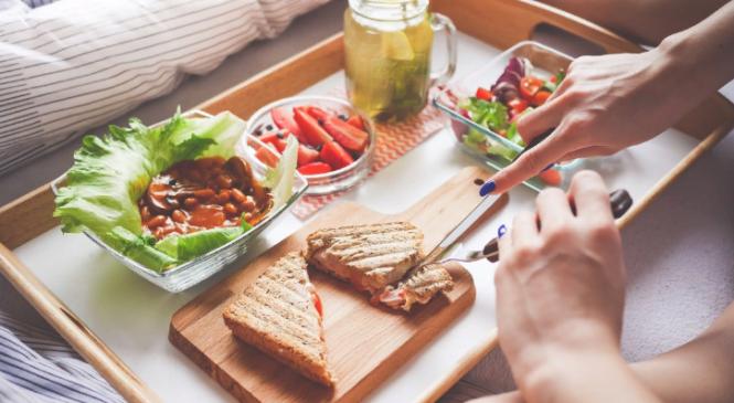 Здоровый перекус — для здоровых людей