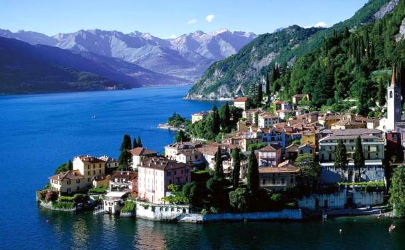 Озеро Комо — достопримечательность Италии