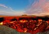 Туркменистан. Газовый кратер Дарваза