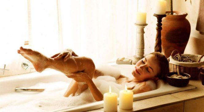 Освежающие, увлажняющие и укрепляющие ванны для тела