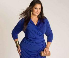 Как одеться модно полным женщинам