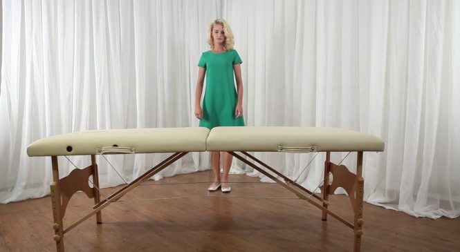Покупка массажного стола складного