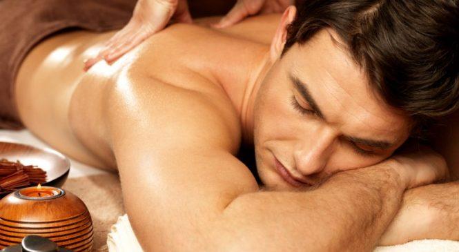 Как довести мужчину эротическим массажем