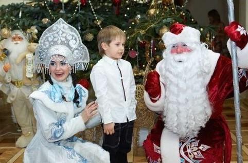 Дед Мороз в детский сад
